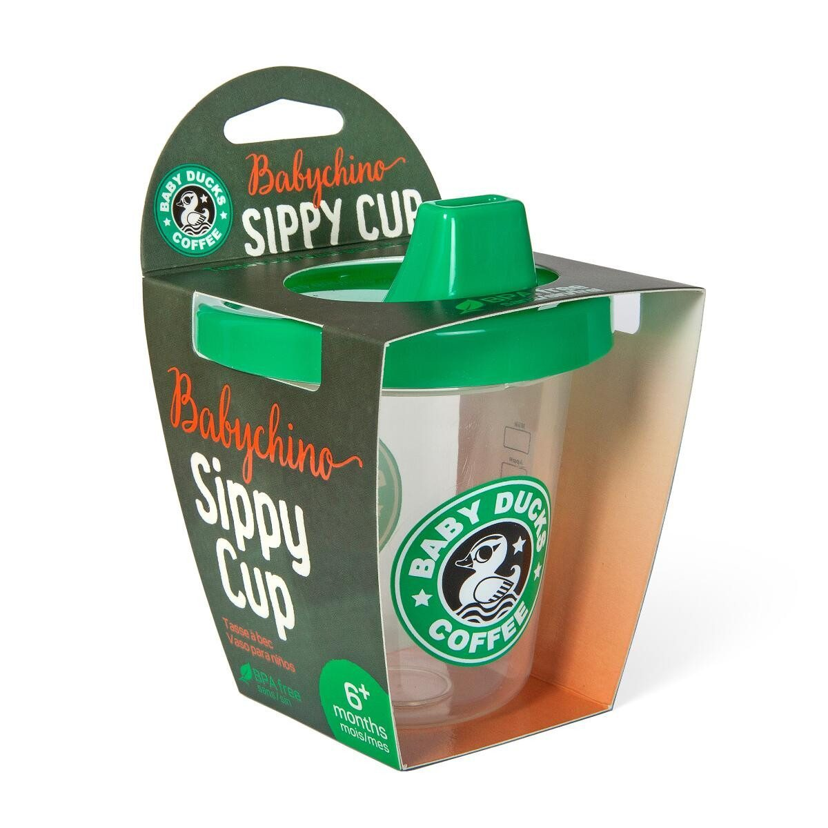 Baby Duck Sippy Cup babychino box