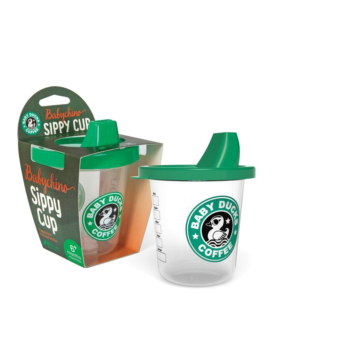 Baby Duck Sippy Cup babychino cup box
