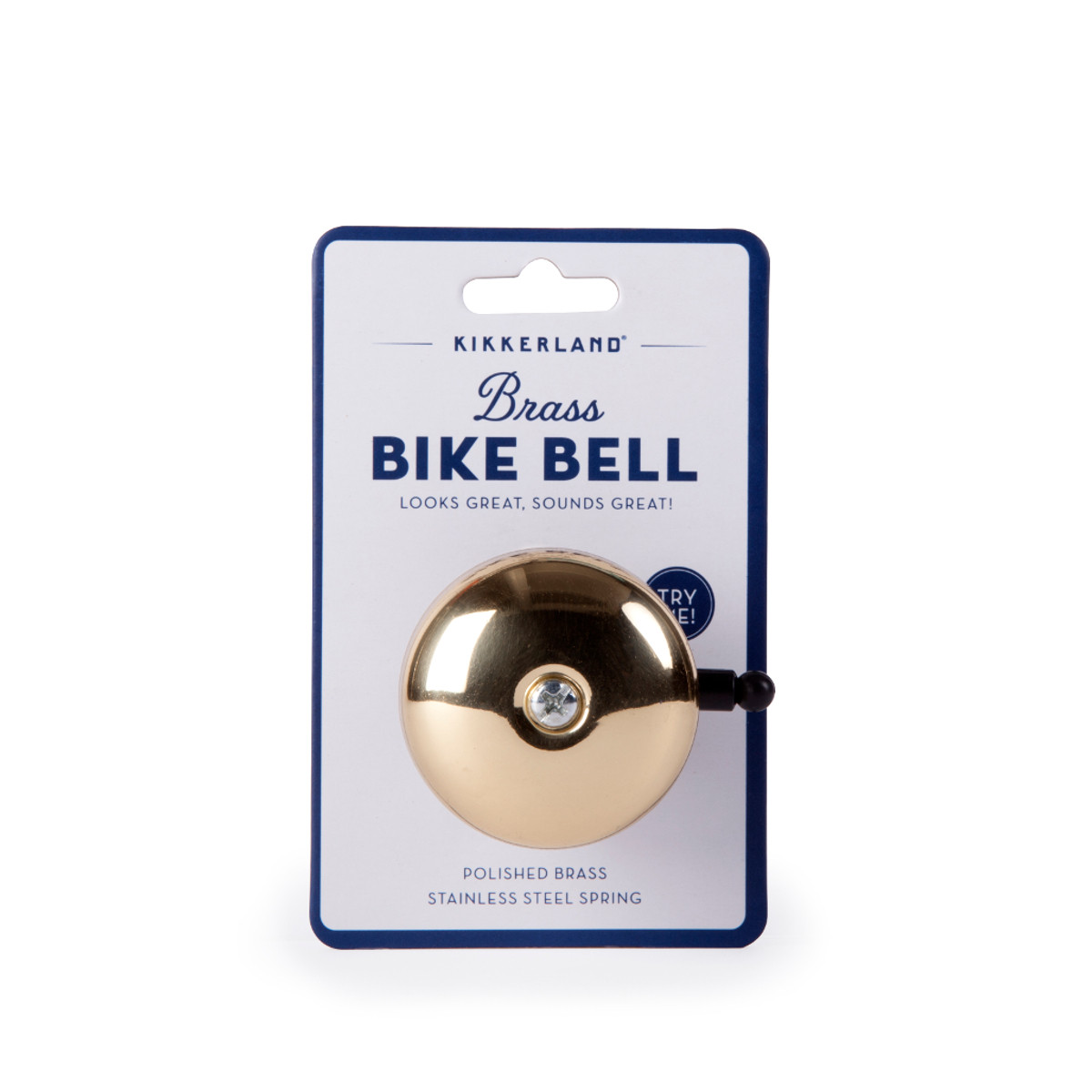 Brass Bike Bell Large - Verpackung