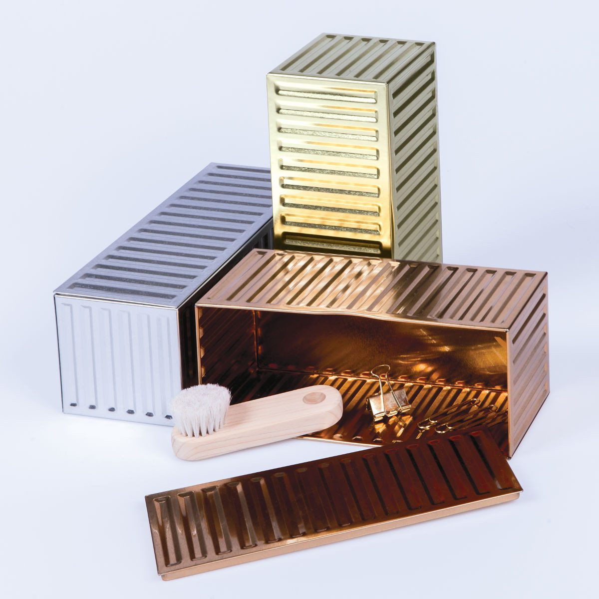 Container Boxes Metal Series