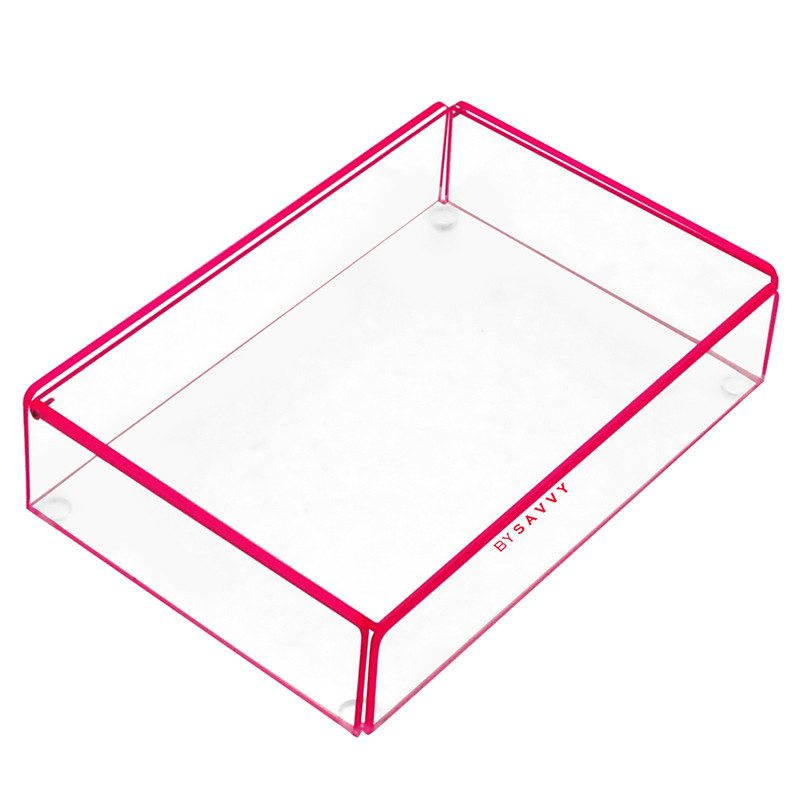 Flash Tidy Acrylic Small Tray with Lid oink