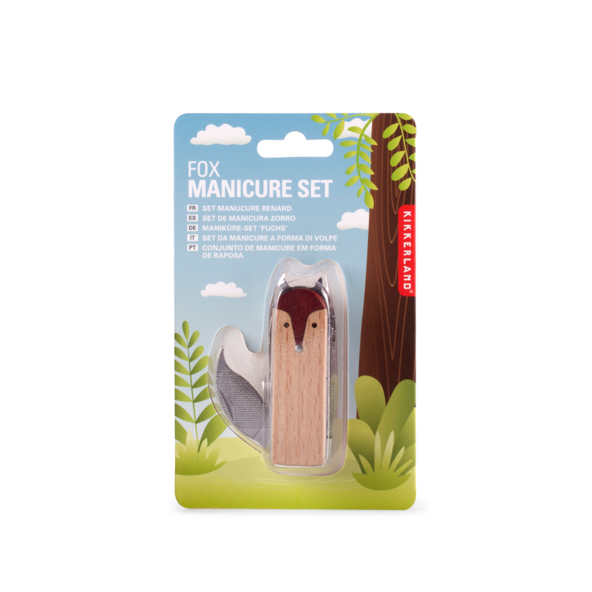 Fox Manicure Set - Verpackung