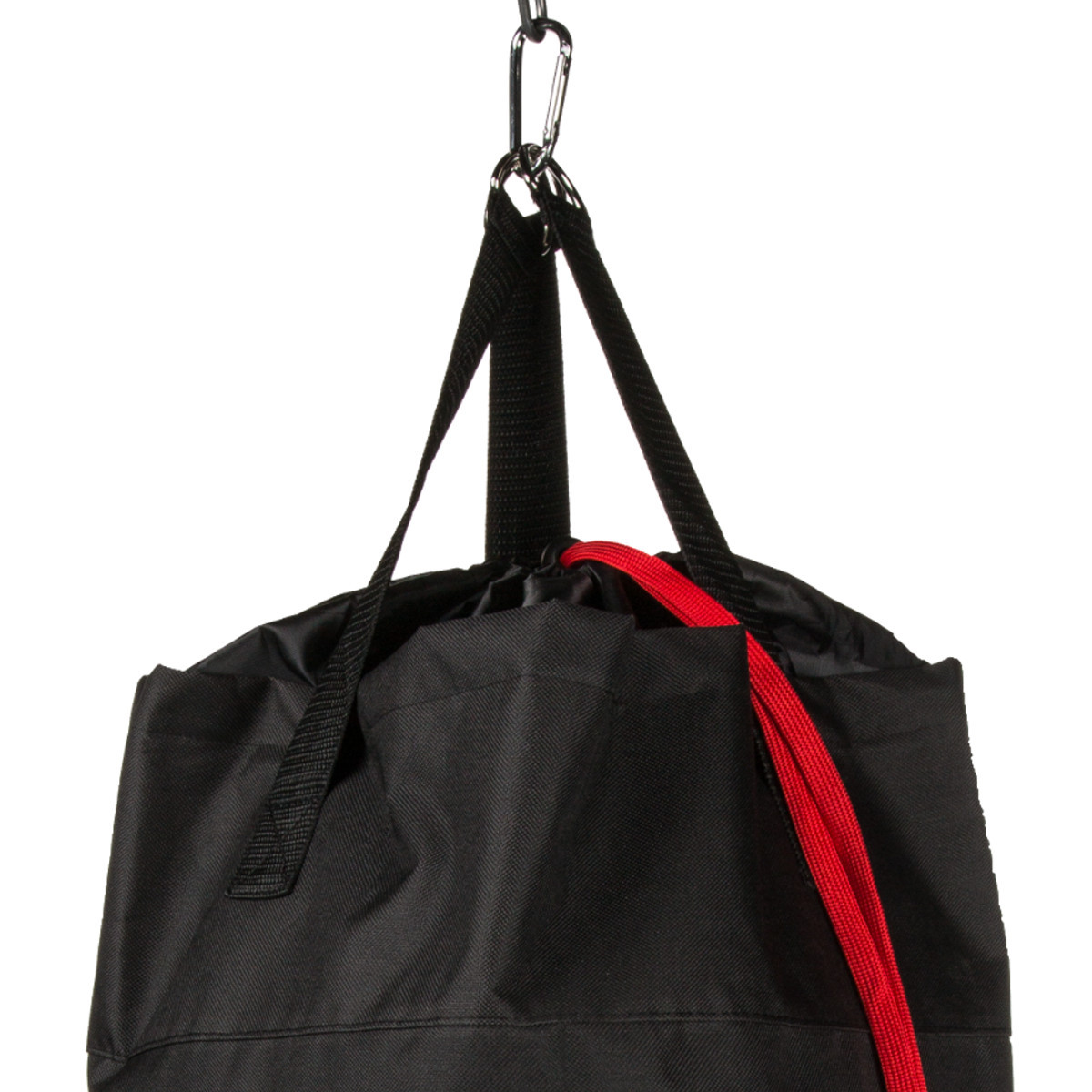 Laundry bag in punching bag style
