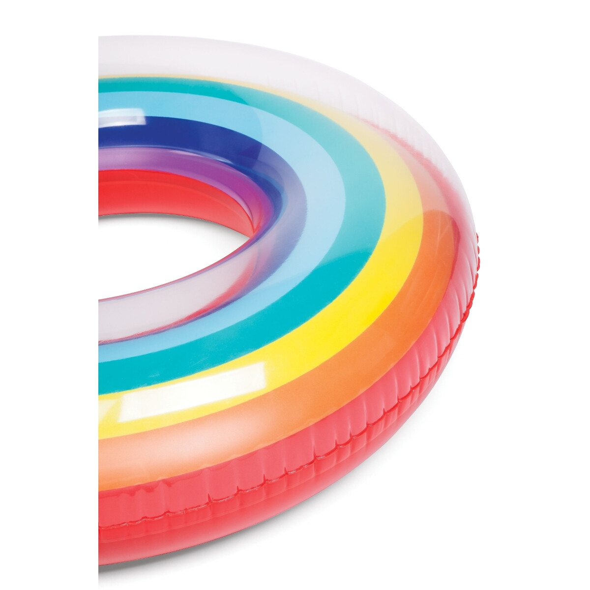 Pool Ring Rainbow - Close Up