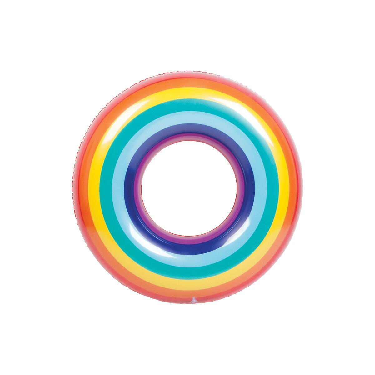 Pool Ring Rainbow - Top View