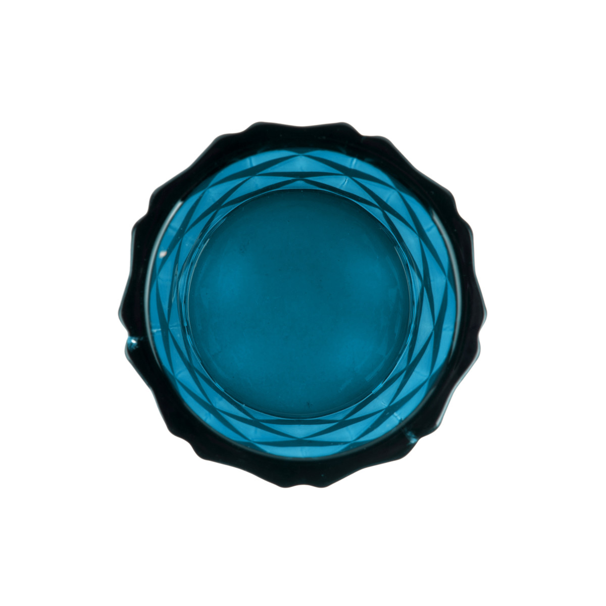 Tealight Holde Set Gem blue Draufsicht