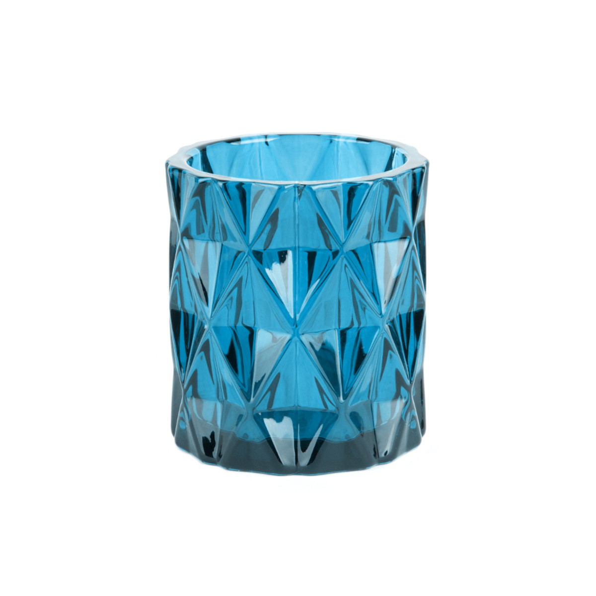 Tealight Holde Set Gem blue