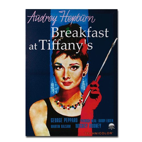 Audrey Hepburn - Breakfast at Tiffany's Kinoplakat