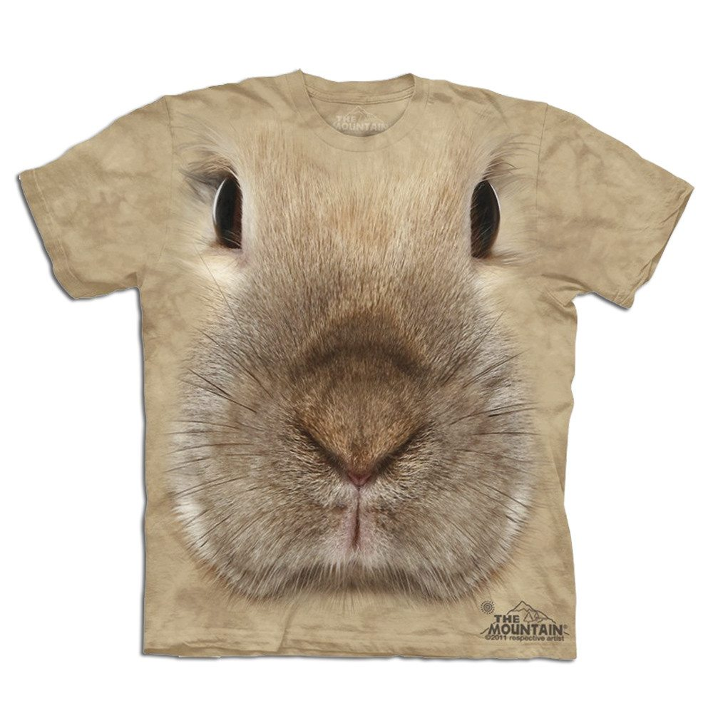 Big Face - Tier T-Shirts - Hase