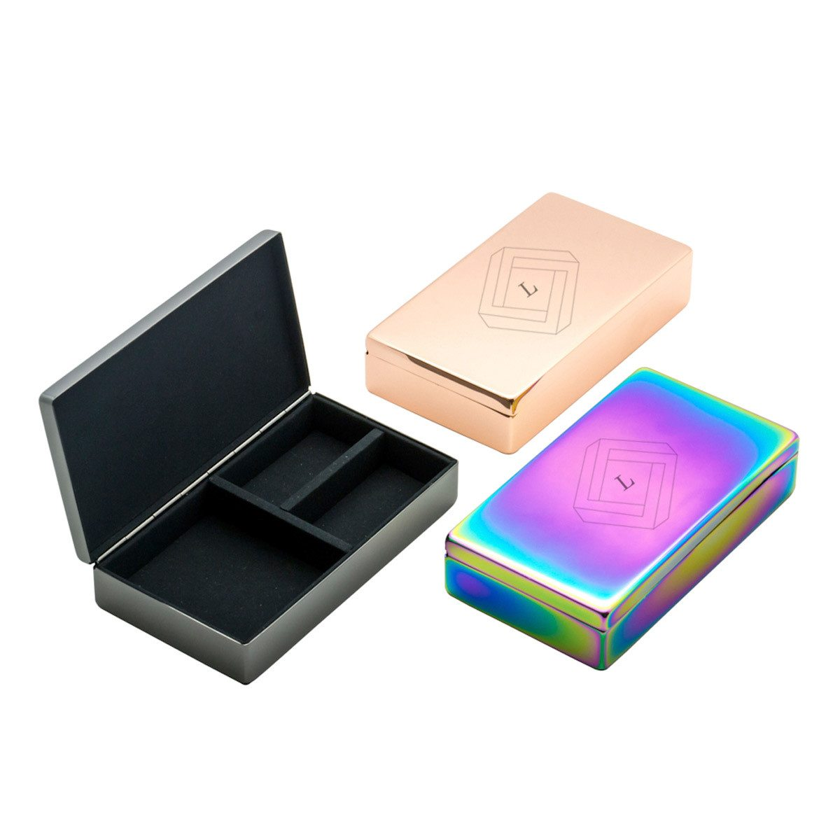 Lund Luxe Boxes with monogram