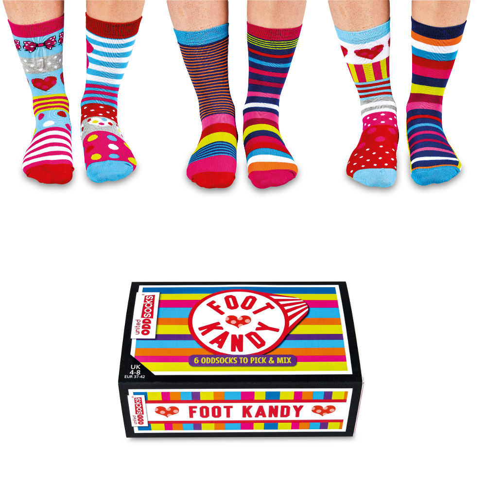 United Oddsocks Foot Kandy sukkasetti