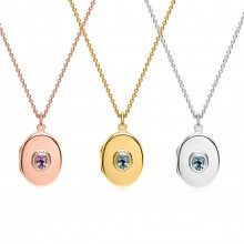 UNIQUE JEWELRY PERSONALIZED CHARM WITH GEM